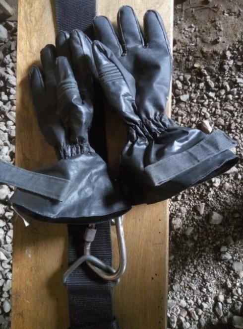 Перчатки пожарные