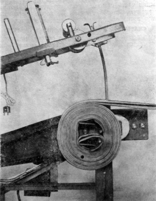 Положение рукава во время скатывания в двойную скатку