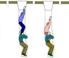 Правила спуска по рукаву спасательному