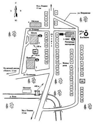 карта следования по маршруту