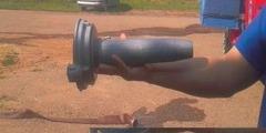 Устройство для перекачки воды через всасывающий патрубок в насос