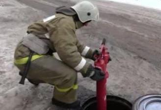 Установка колонки на пожарный гидрант