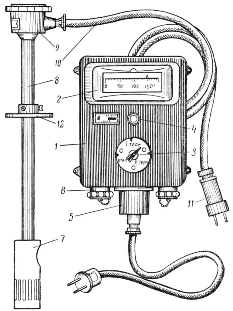Аппараты установки ДКТСу-1М