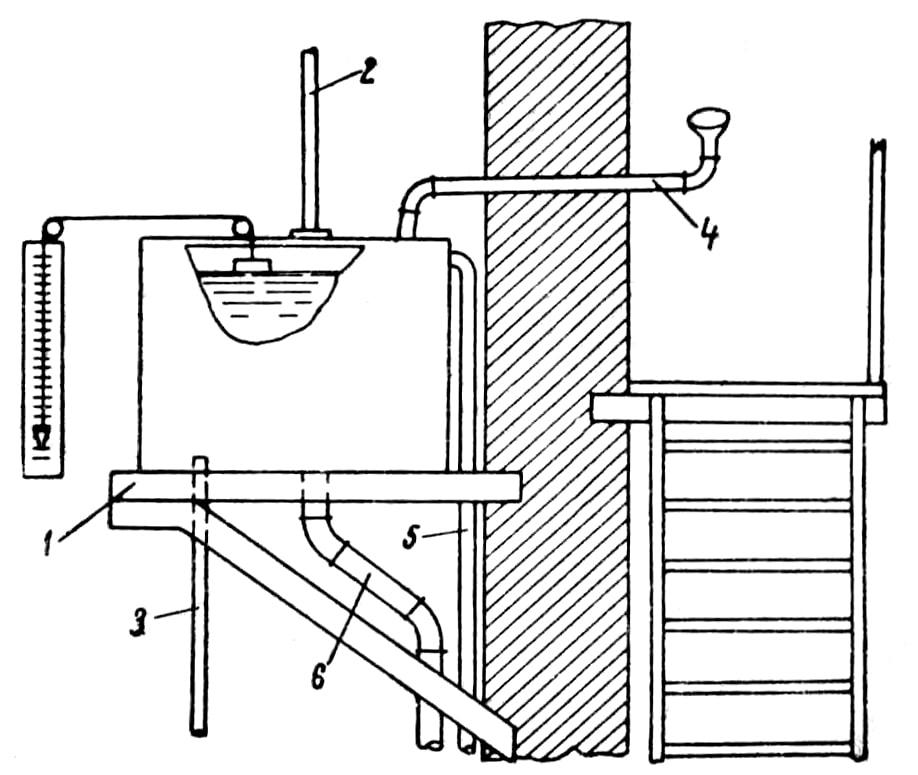 Напорный топливный бачок с оборудованием