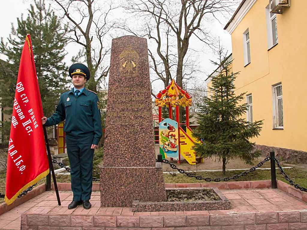 Обелиск доблестным пожарным погибшим при исполнении служебного долга