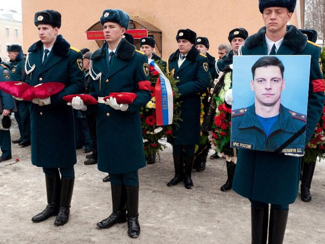 Похороны Тихомирова Дмитрия Евгеньевича