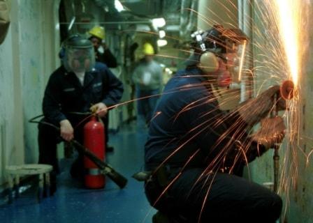 Безопасность при огневых работах