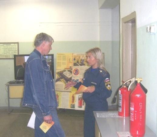 Опрос при обучении пожарной безопасности