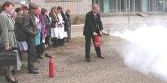 Обучение мерам пожарной безопасности