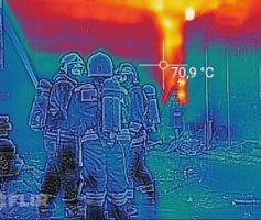 Температура пламени на пожаре