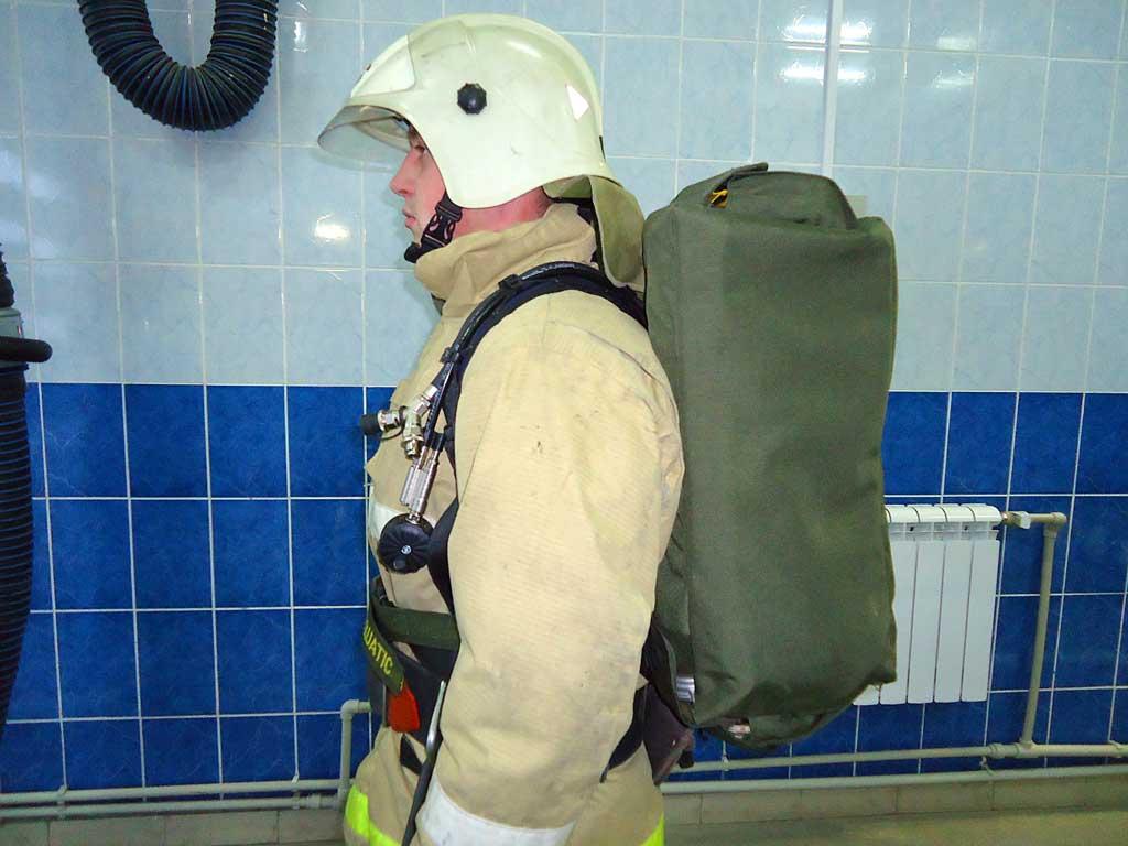 Сумка для переноски пожарных рукавов