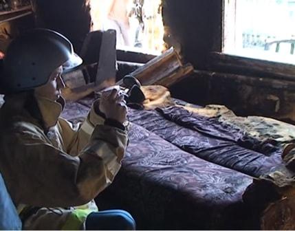 Фото мест границ сильных повреждений пожаром