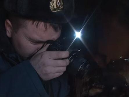 Фотографирование места пожара