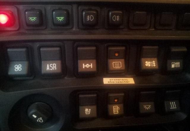 Панель клавишных переключателей