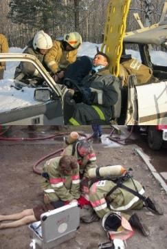 Первая доврачебная помощь на пожаре