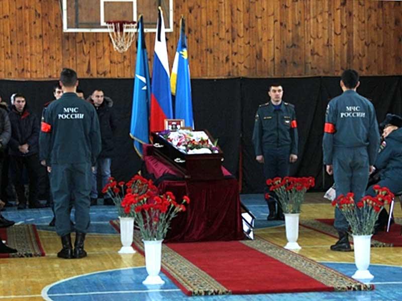 Похороны Сергеева Владимира Геннадьевича