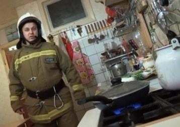 Пожарная опасность на кухне
