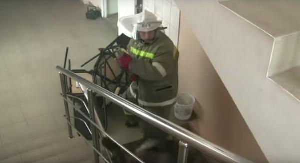 Пожарная тревога в школе эвакуация