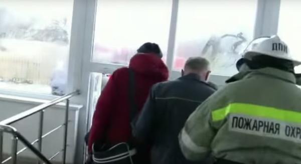 Пожарная тревога в школе