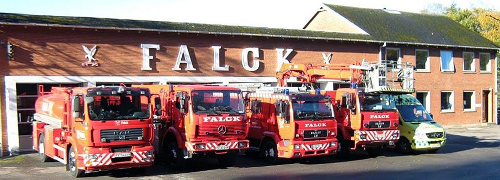 Станция компании Falck