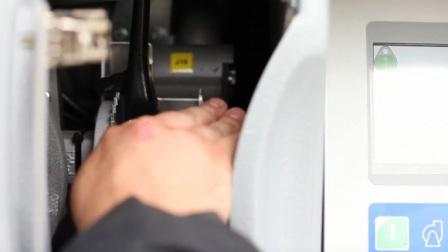 включить ступень ВД плавным поворотом рукоятки