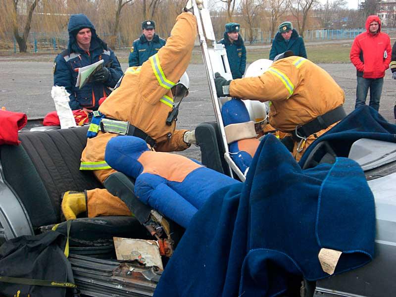 Аварийно-спасательные работы при ДТП (соревнования среди АСФ)