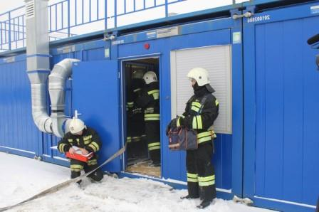 Теплодымокамера для пожарных