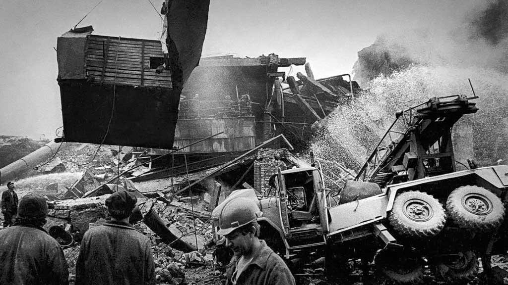 Взрыв на АО Бератон