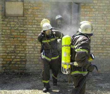 работа звена гдзс на пожаре
