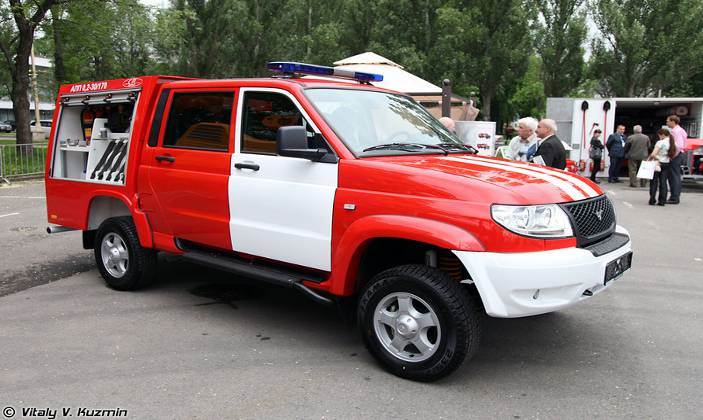 АПП-0,2-30/170 (Rescue vehicle APP-0,2-30/70)