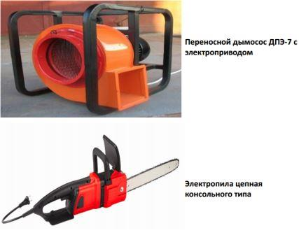 Электрический ручной механизированный инструмент