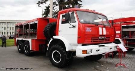 ПНС-110 на шасси КАМАЗ 43114