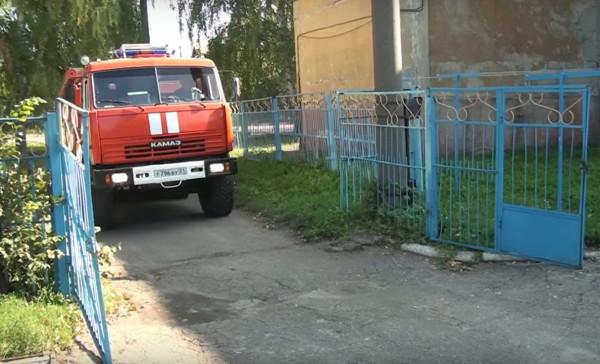 Пожарная тревога в детском саду