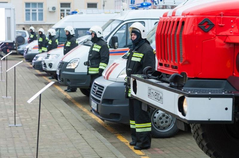 Пожарно-спасательные подразделения Брянщины получили новейшую технику