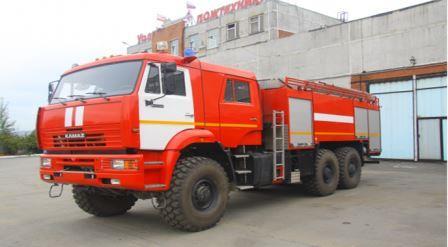 Автомобиль пенного тушения АПТ 7,0 на базе КАМАЗ-65224