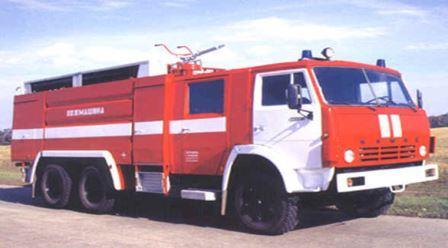 АвтомобильпожарныйаеродромныйАА-12/60 (63501)