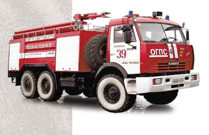 АвтоцистернапожарнаяАЦ-5-40