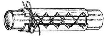 Рис. 13. Корсетный зажим