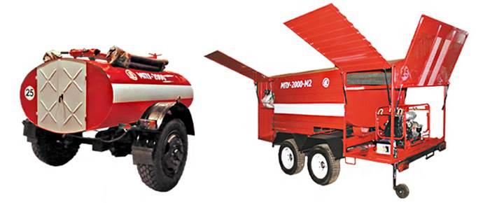 Мобильные пожарные установки МПУ-2000, МПУ-2000-М2