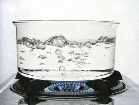 нагревание жидкости