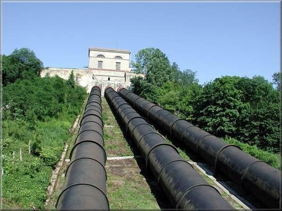 напорные водопроводы