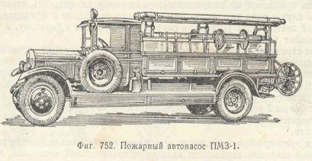 пожарный автонасос