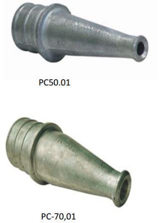 ручной пожарный ствол под навязкуРС50.01иРС-70,01