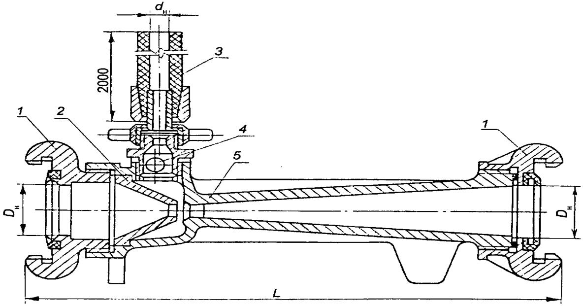 Схема пеносмесителя