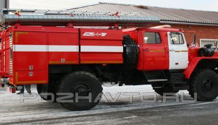 Трёхкубовая автоцистерна на полноприводном шасси Урал (4x4)