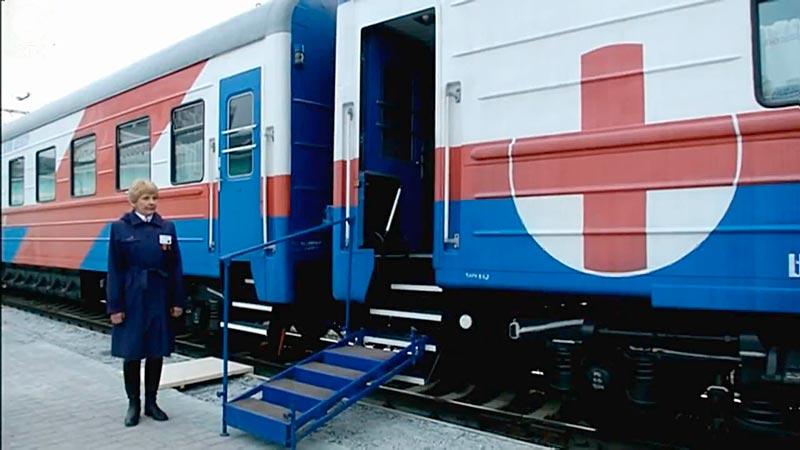 Блок экстренной медицинской помощи в вагонах