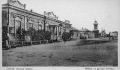 Деревянная Омская-пожарная-каланча