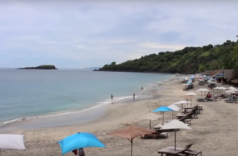 Пляж на острове Самуи