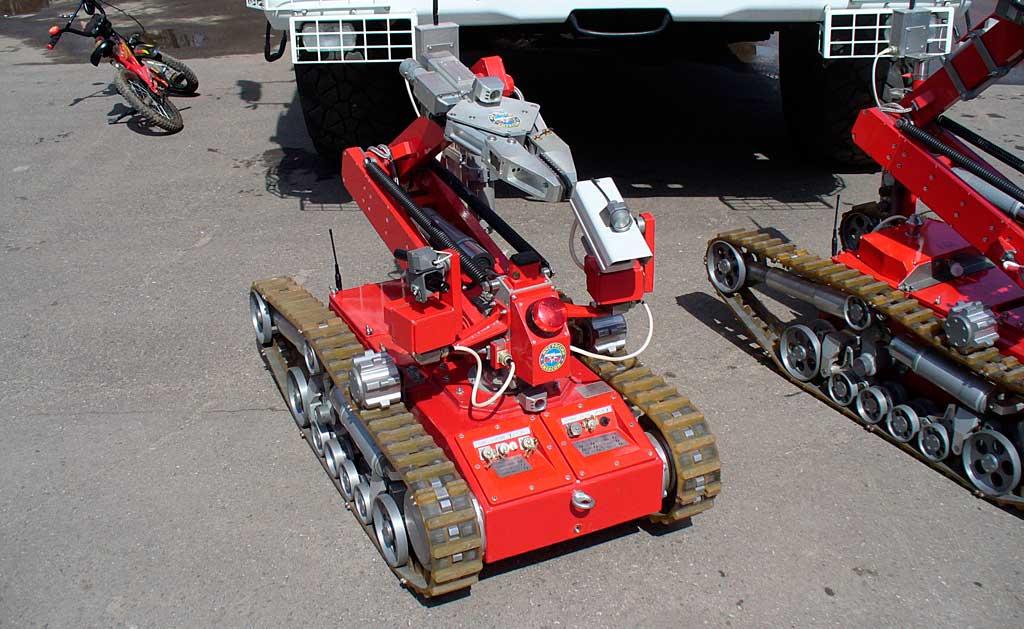 Наземное робототехническое средство
