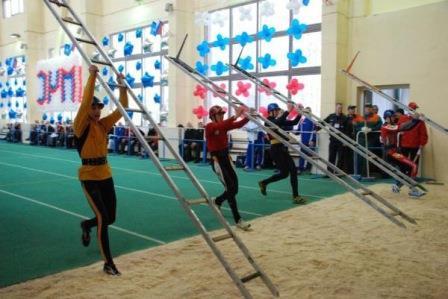 Соревнования по пожарно прикладному спорту